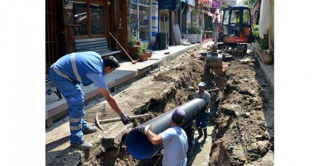 Alsancak'taki su alt yapısında büyük yenileme