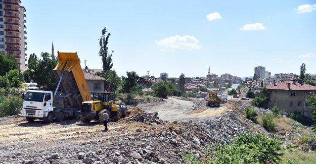 Altındağ Ulubey Mahallesi'ne 30 metre genişliğinde yol!