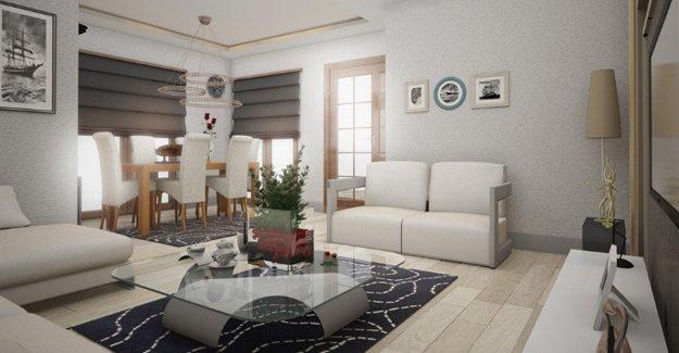 Anadolu Evleri Bursa'da örnek daire hazır!