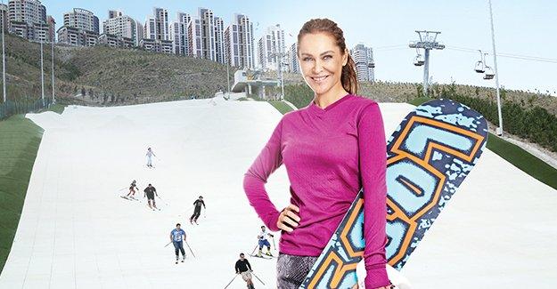 Ankara'da 365 gün kayak keyfi Snowland'de!