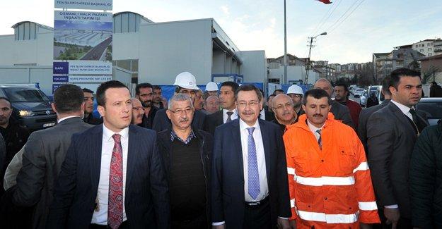 Ankara'da Osmanlı Halk Pazarı'nı Başkan inceledi!