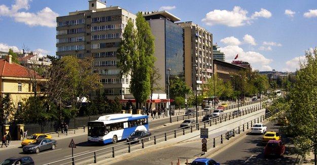 Ankara İnönü Bulvarı'nda asfalt çalışması!