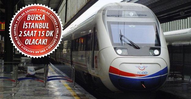 Antalya İstanbul hızlı tren çalışmaları başladı!