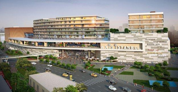 Axis İstanbul'da 20 dolar kira garantili A+ ofisler!