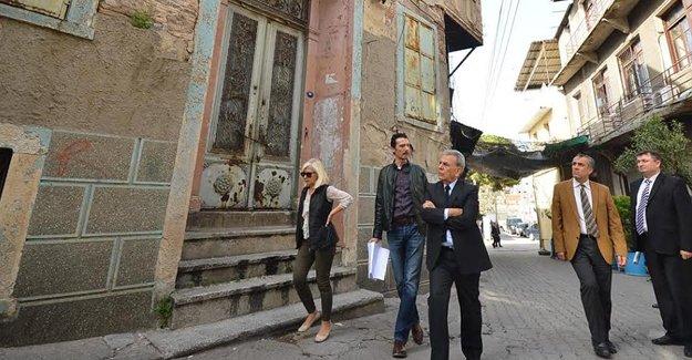 Aziz Kocaoğlu İzmir Tarih Projesi'ni yerinde inceledi!