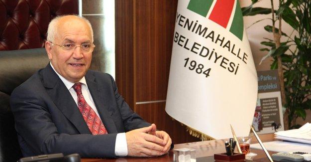 Başkan Yenimahalle'nin sorunlarını Cumhurbaşkanı'na anlattı!