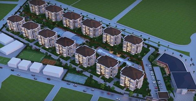 Batıkent Residence AVM İnegöl'de yükseliyor!