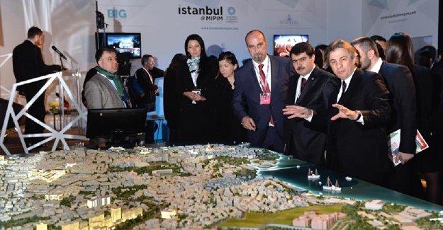 Beyoğlu MIPIM'de 25 milyar dolarlık projeleriyle şov yaptı!
