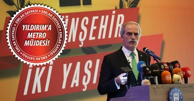 """""""Bursa, artık bir dünya kenti""""!"""