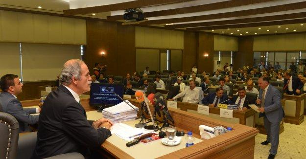 Bursa Büyükşehir Belediyesi Eylül ayı meclis toplantısı tamamlandı!