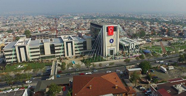Bursa Büyükşehir Belediyesi'nin yeni binası açıldı