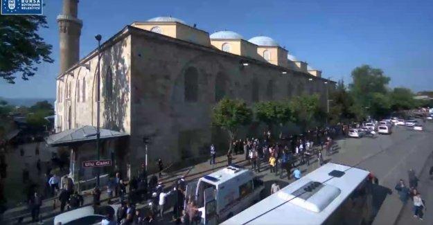 Bursa'da patlama!Son dakika Bursa'da patlama