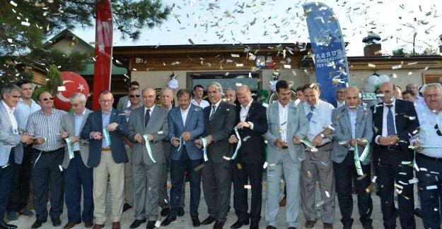 Bursa'nın 51. sosyal tesisi Kent Ormanına açıldı!
