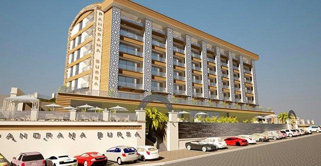 Bursa Panorama Evleri Yunuseli'de yükseliyor!