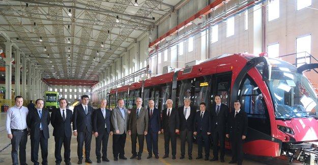 Bursa raylı sistemde Türkiye'nin gururu!