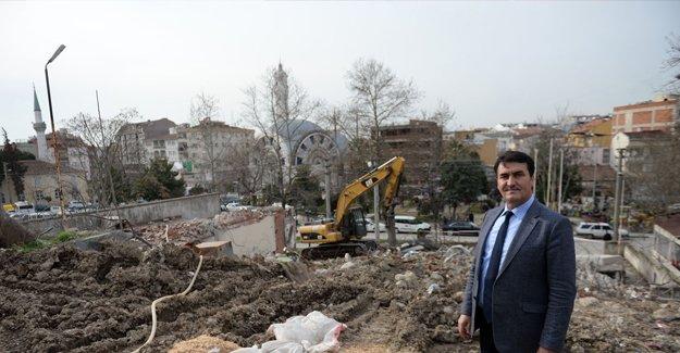 Demirtaş Meydanı Projesi hız kesmeden devam ediyor!