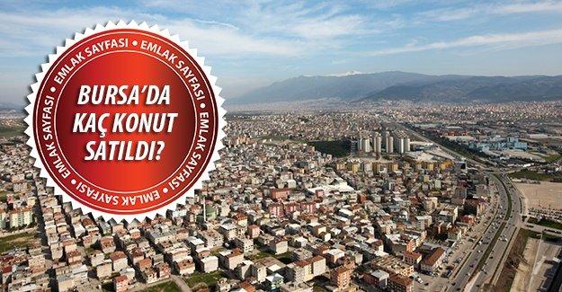 Eylül 2015 döneminde Bursa kaç konut satıldı? İşte sonuçlar...