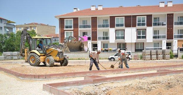 İnegöl Belediyesi kentsel görünüme yeni bir vizyon katıyor!