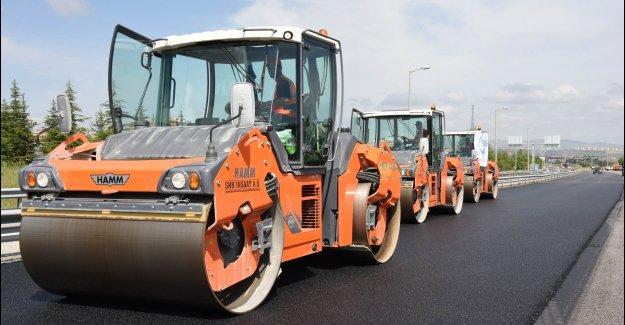 İnegöl ve Yenişehir arter, cadde ve sokakları için asfaltma işi ihalesi 18 Eylül'de