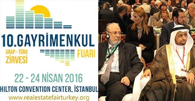 İstanbul Gayrimenkul Fuarı ve Arap-Türk Zirvesi 23-24 Nisan'da!