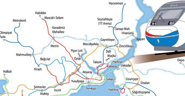İstanbul yerleşim hayatını ulaşım belirliyor!