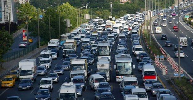İstanbul yol durumu 18 Ekim 2015