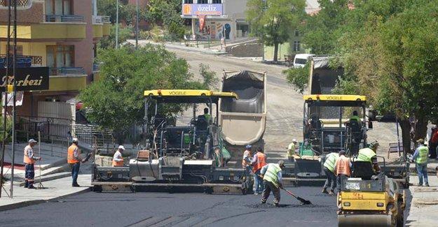 İşte Ankara'da asfalt çalışması olan yerler!