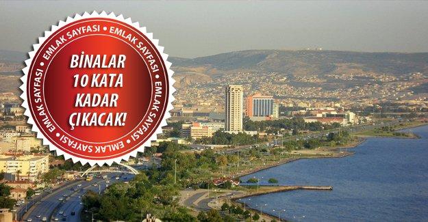 İzmir Bayraklı'nın imar planı değiştirildi