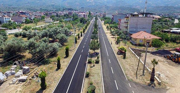 İzmir Beydağ'ın yolları yenilendi!