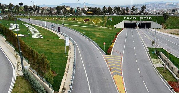 İzmir'de tablo gibi peyzaj çalışması!