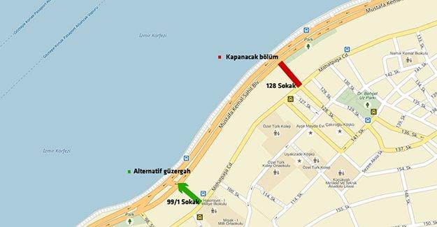 İzmir'de trafiğe kapalı alan uyarısı!