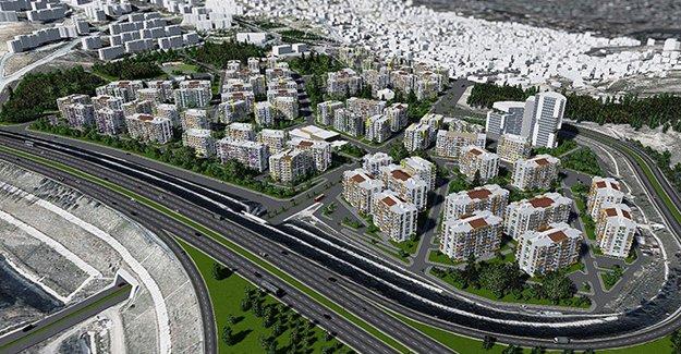 İzmir Uzundere kentsel dönüşüm yapım ihalesi 18 Mayıs'ta!