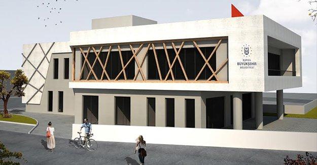 İznik Çakırca'ya modern hizmet binası!