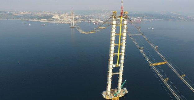 Körfez Geçiş Köprüsü'nde son durum!