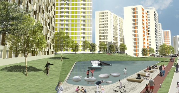 Mamak kentsel dönüşümle yeşilleniyor!