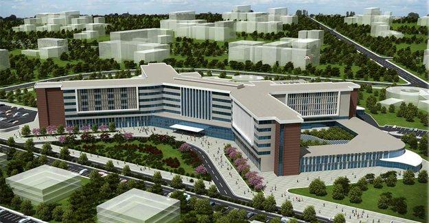 Manisa Kent Hastanesi Haziran 2017'de bitecek!