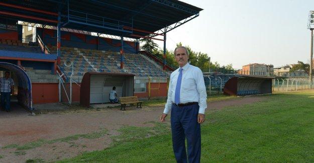 Mustafakemalpaşa Stadı sil baştan yenileniyor