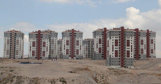 Nevşehir'de 3 bin 773 konut inşa edildi!