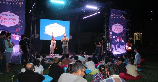 Nurol Park'ta nostaljik Ramazan Panayırı!