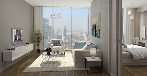 Plus Residences'da 2+1 daireler lansmana özel fiyatlarla satışta!