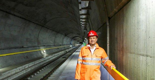 Rönesans imzalı Dünya'nın en uzun tüneli açıldı!