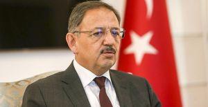 Bakan Özhaseki 'İnşaat sektörü için teşvik paketi hazırlayacağız'!