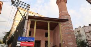 Bursa'da 600 yıllık İsak Şah camii özgün halini almaya başladı!