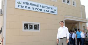 Osmangazi Emek Spor Salonu yenilendi!