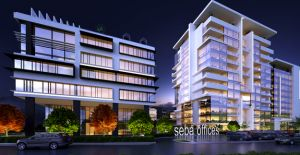 Seba İnşaat'tan ofis projesi; Seba Office Boulevard