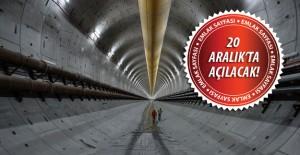 Avrasya Tüneli'nde artık sona yaklaşılıyor!