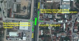Bursa Panayır Sinyalize kavşağı 26 Ekim'de trafiğe kapatılacak!