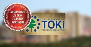 TOKİ Manisa'da 148 konut için başvurular 24 Ekim'de başlıyor!