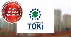 TOKİ'nin açık satış ile konut sattığı iller! 10 Ekim 2016