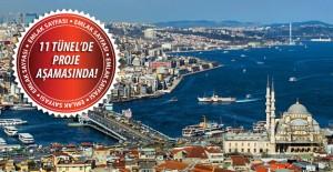 İstanbul'da 16 yeni tünelin inşaat çalışmaları başlıyor!